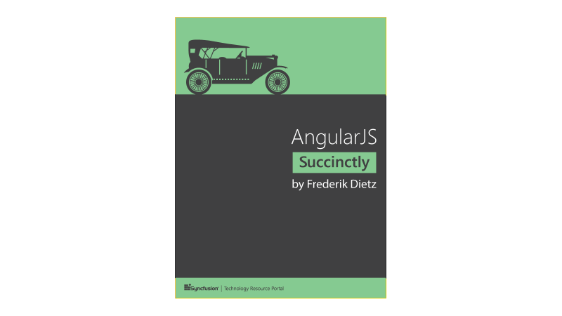 Cover book: AngularJS Succinctly