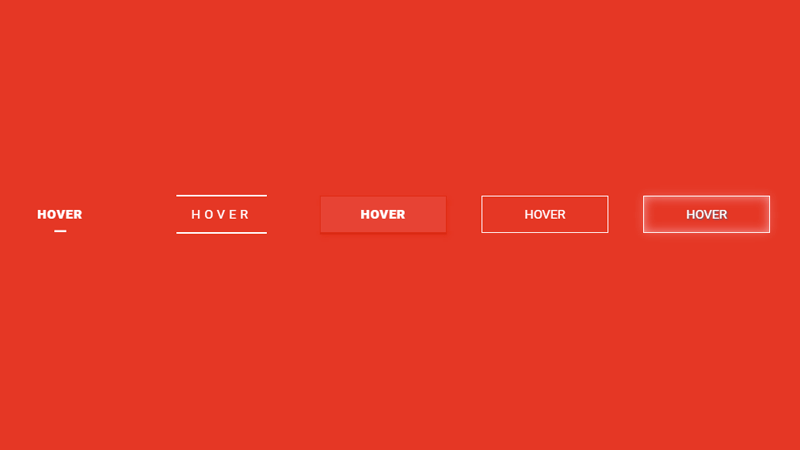 Demo Image: Collection Of Button Hover Effects