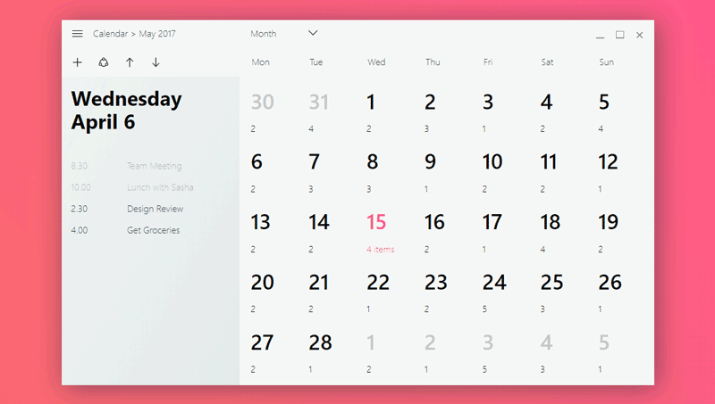 Calendar Layout Css : Calendar css ideal vistalist