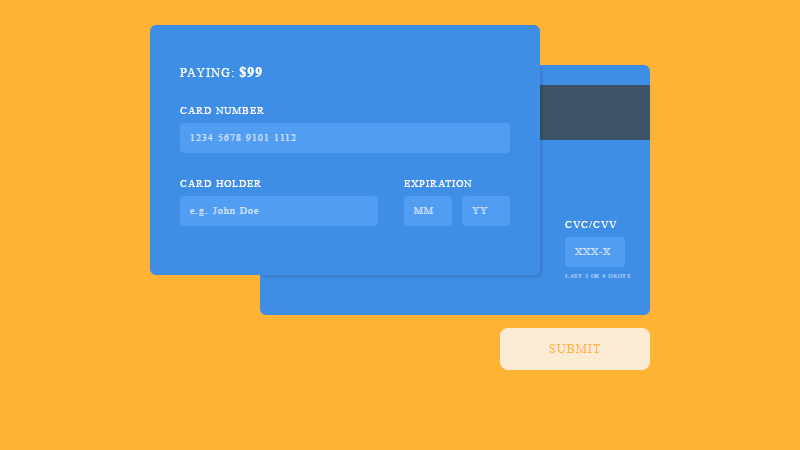 css form template