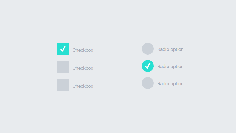 Demo Image: Ripple Animation On Input Type Radio And Checkbox