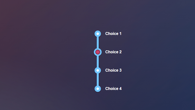 Demo Image: Stylish Radio Buttons