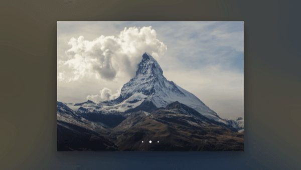 Demo Image: Slick Slideshow With Blur Effect