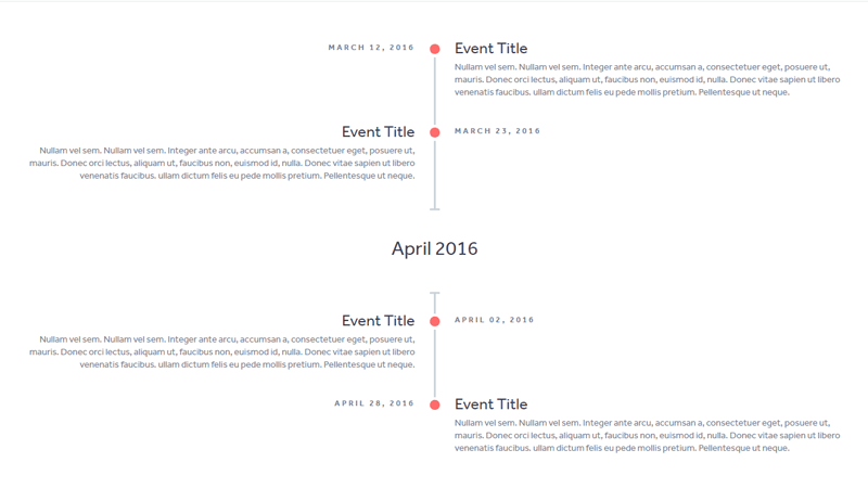 Demo Image: Simple Responsive Timeline