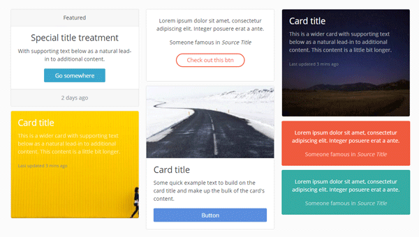 Demo Image: One UI Kit For Bootstrap 4