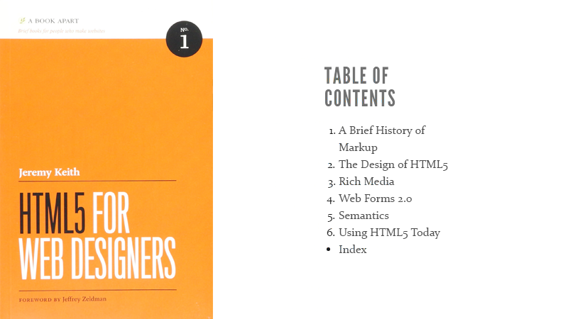 Cover Image: HTML5 For Web Designers
