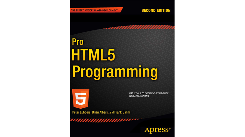 Cover Image: Pro HTML5 Programming. Powerful APIs For Richer Internet Application Development