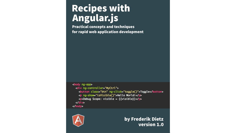 Cover book: Recipes With Angular.js