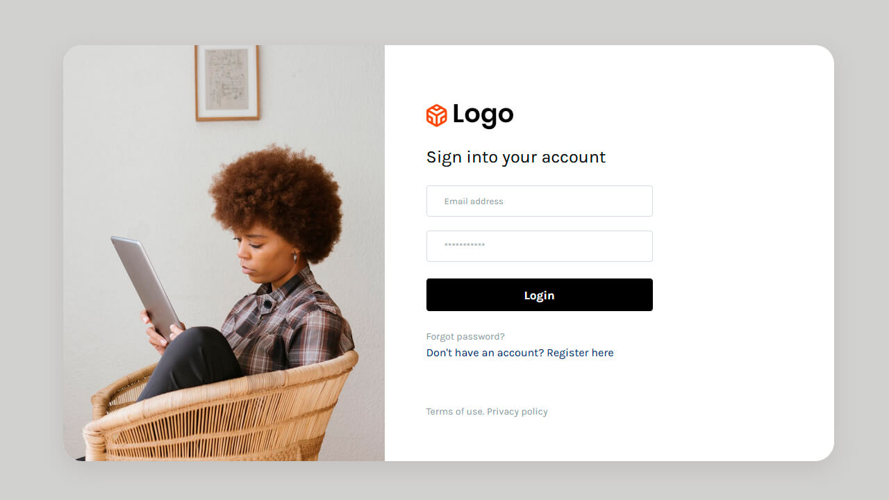 Collection of free Bootstrap login/signup form template code examples: login page, registration page, responsive, with validation, etc.