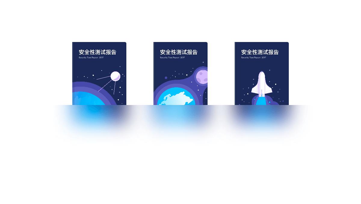 Imagen de demostración: Books Hover Animation