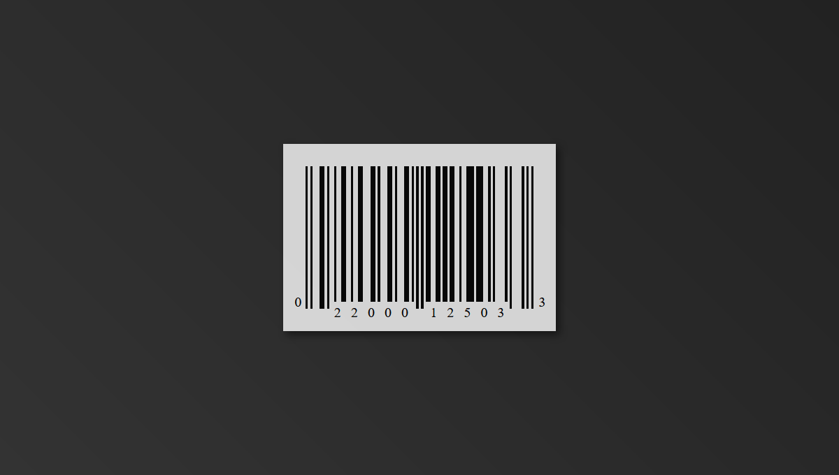 Post thumbnail: 5 Barcodes in CSS