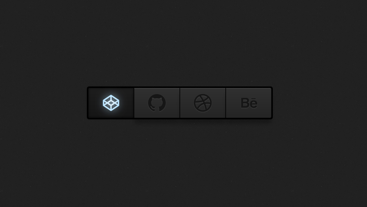 Demo image: Group Button with SVG Icons