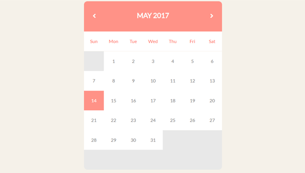 36 Css Calendars