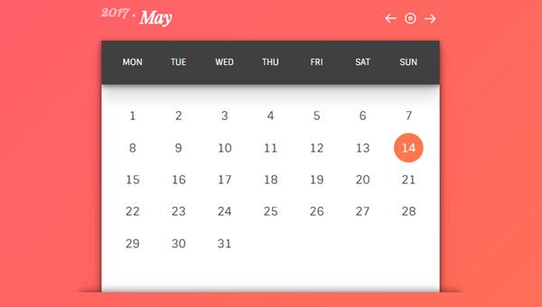 calendar css template - Isken kaptanband co