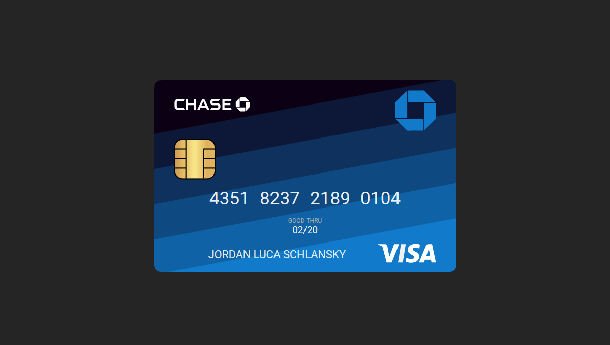 Demo image: Credit Card