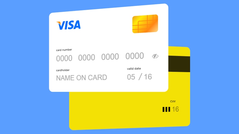 Demo Image: Credit Card Checkout