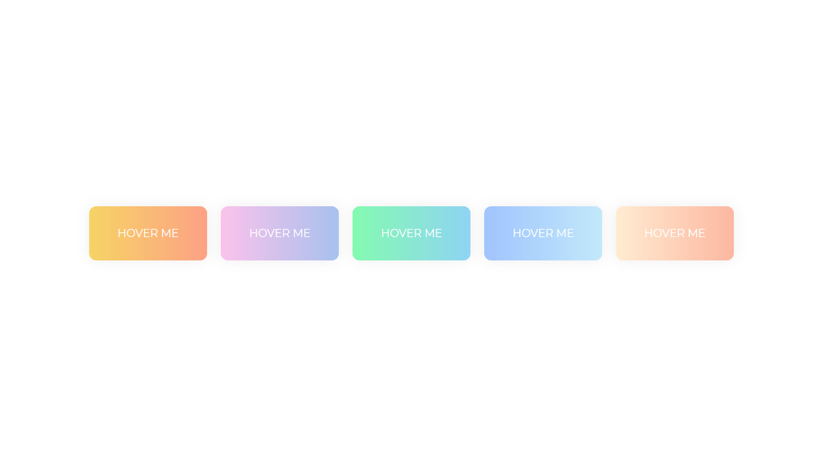 Demo image: Gradient Buttons with Background-Color Change
