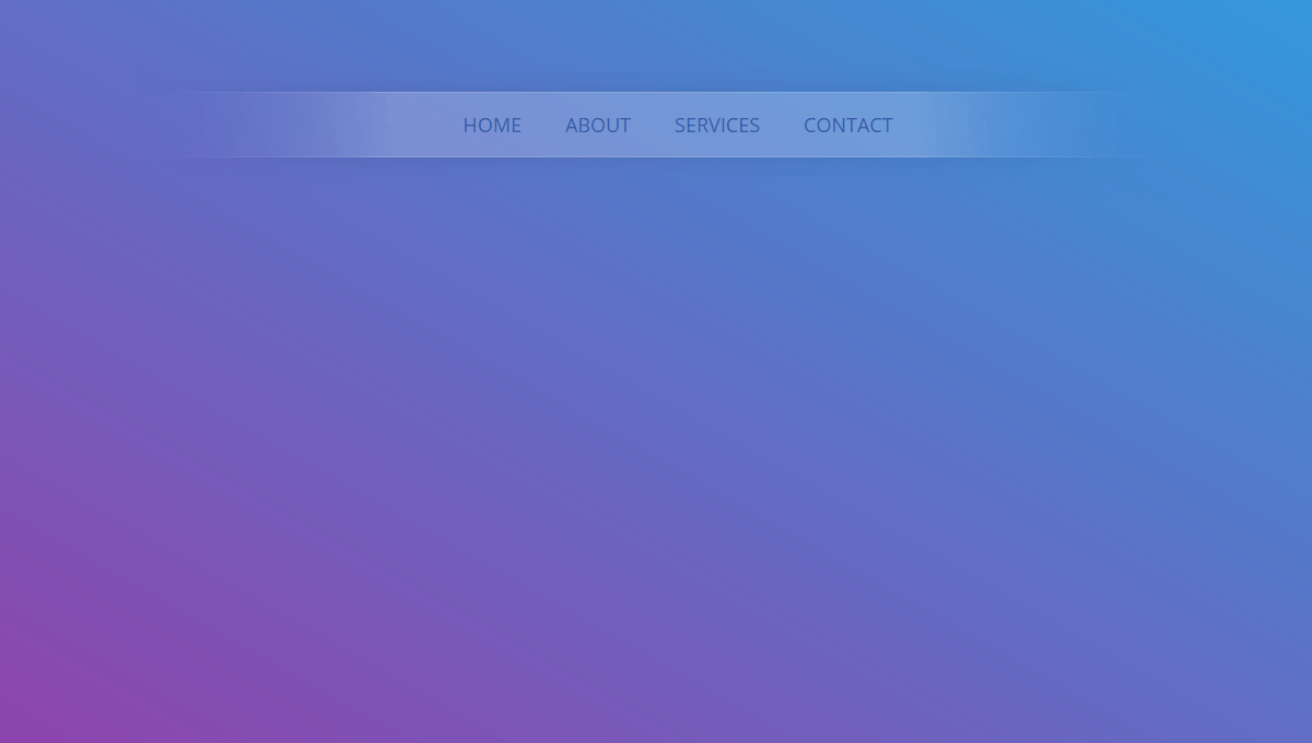 Collection of free HTML and CSS horizontal menu code examples.