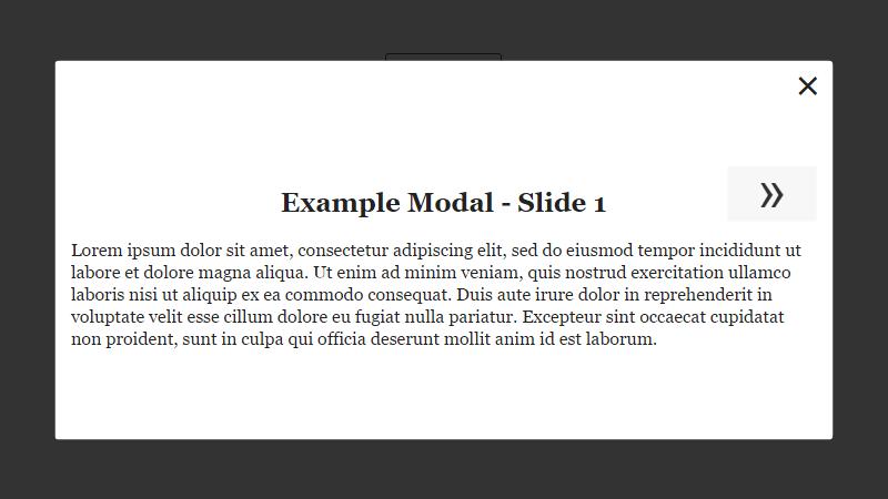 58 CSS Modal Windows