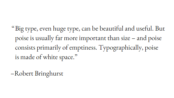 Demo Image: CSS Typography Quote