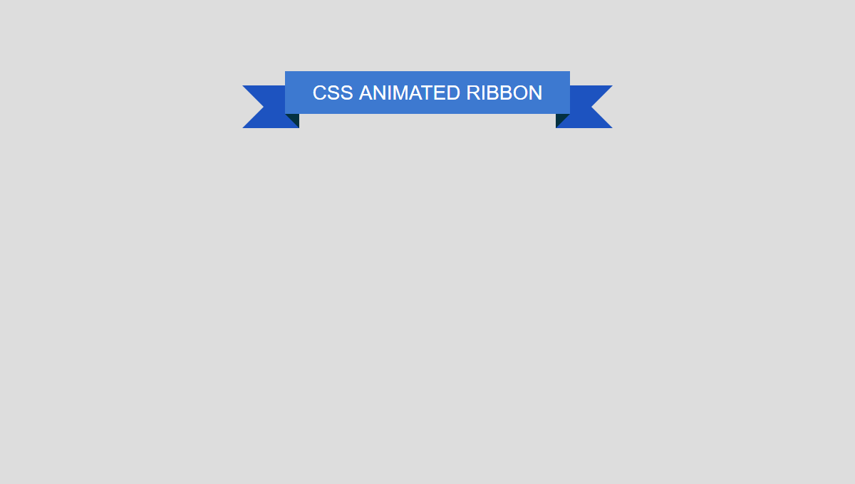 Demo image: Animated Ribbon