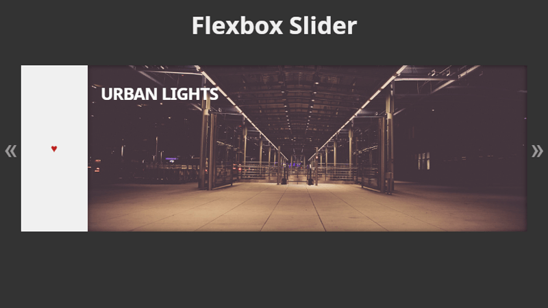 Demo Image: Flexbox Slider