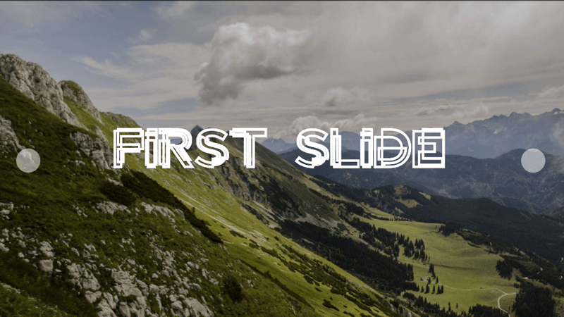 Demo Image: Pure CSS Slider With Custom Effects