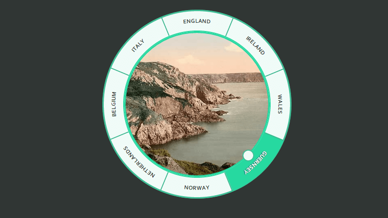 Demo Image: Tiny Circle Slider