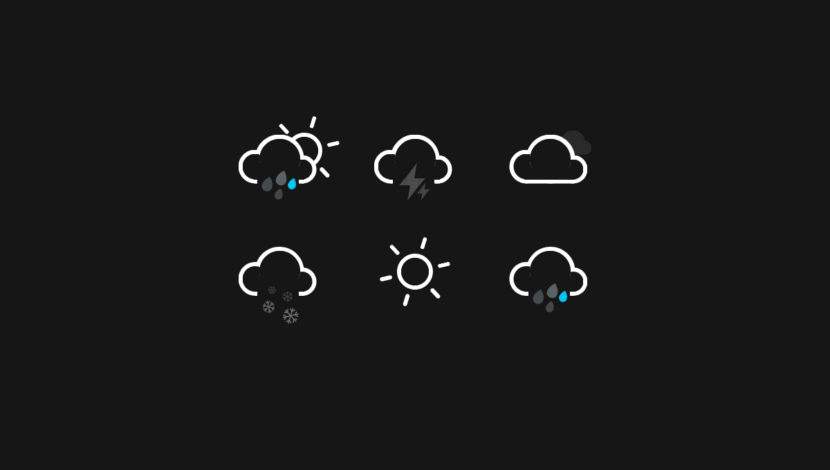 10 Css Weather Icons