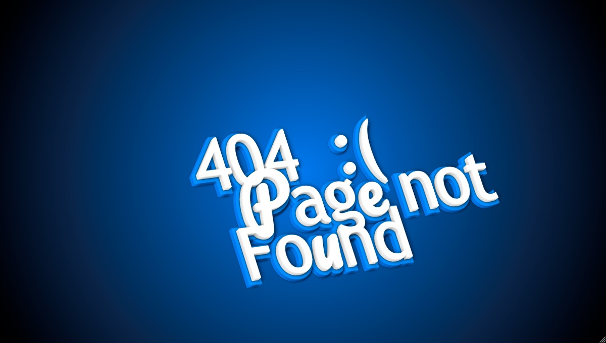 Demo image: 404 Animated Page