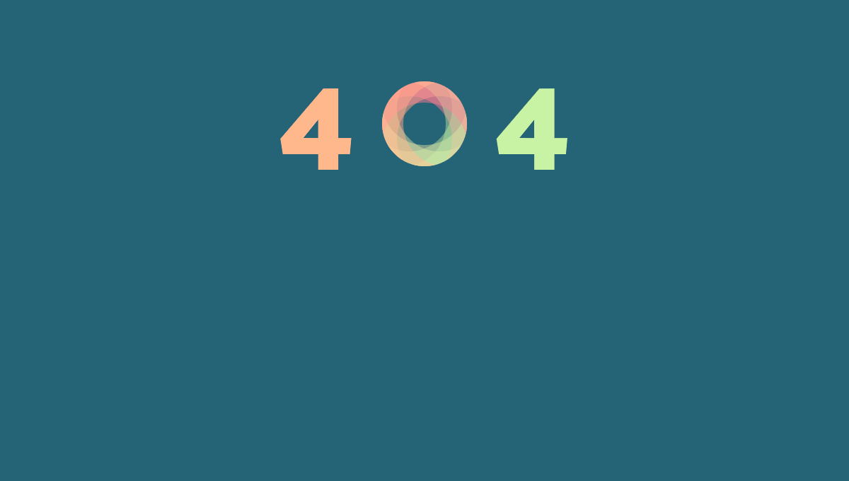 Demo image: 404 Error Example #3