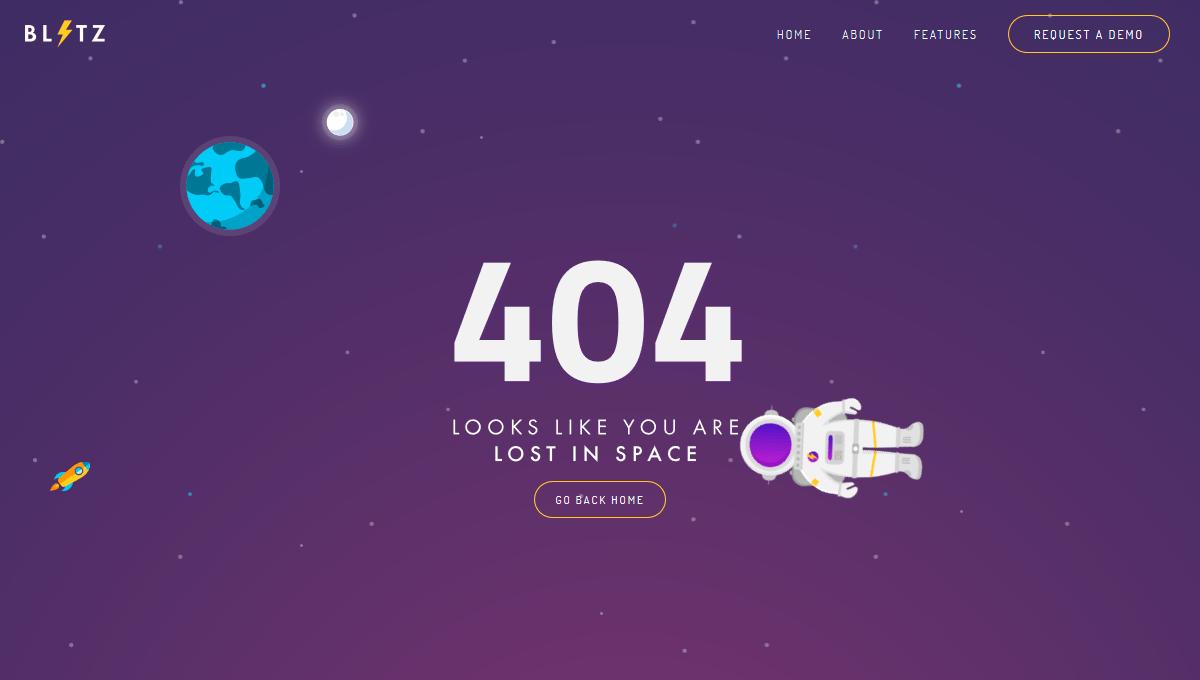 Demo Image 404 Page Lost In E