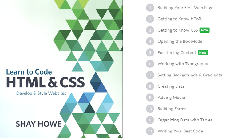 Cover Image: Learn To Code HTML & CSS. Develop & Style Websites