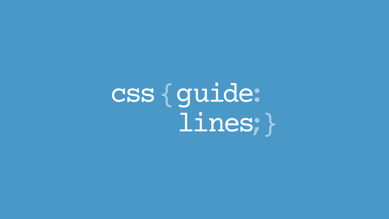 A collection of hand-picked HTML and CSS style guides.