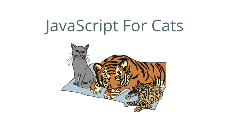 Cover Image: JavaScript For Cats