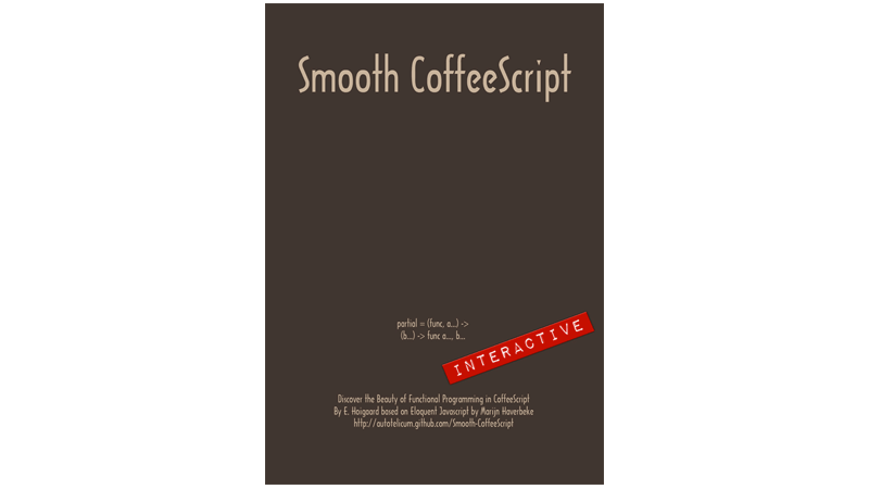 Cover Image: Smooth CoffeeScript