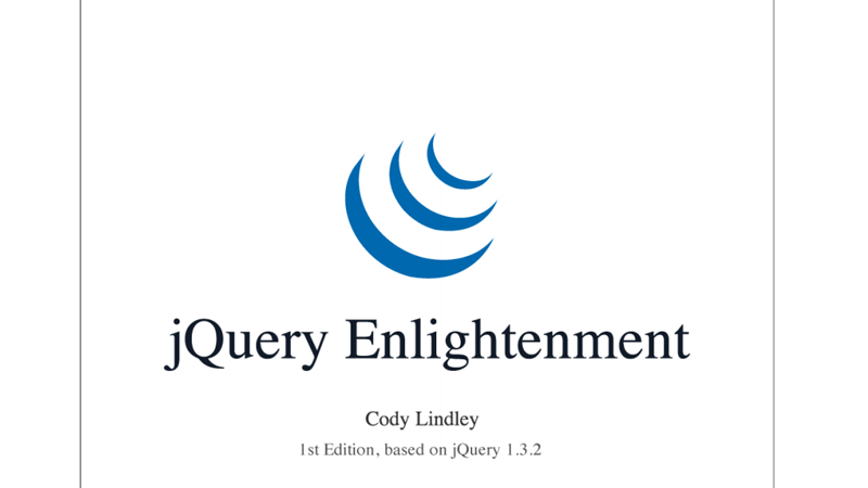 Cover Image: jQuery Enlightenment