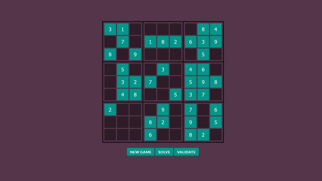 Sudoku Html