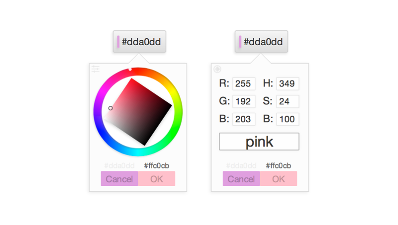 Demo image: Small Color Picker