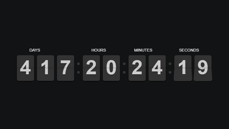 15 jQuery Countdown Plugins