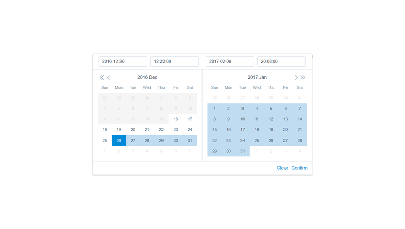 24 jQuery Date And Time Picker Plugins