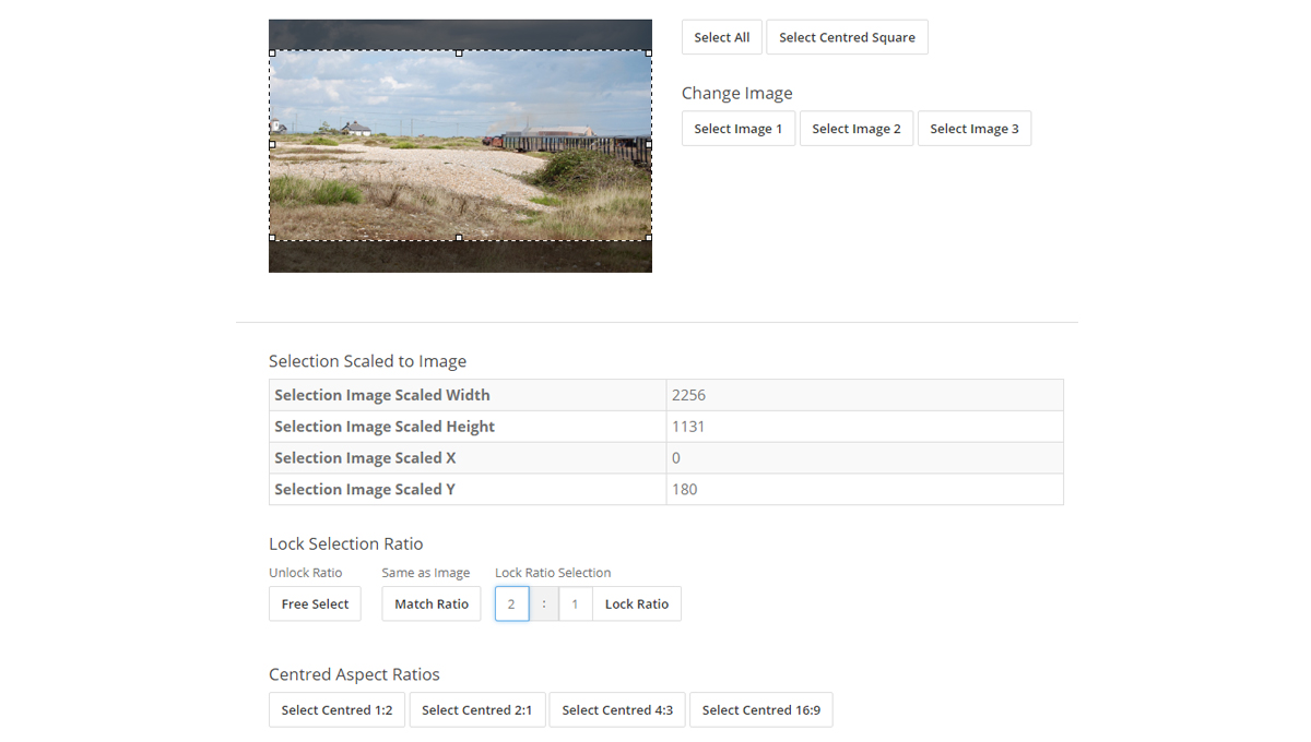 16 jQuery Image Cropping Plugins