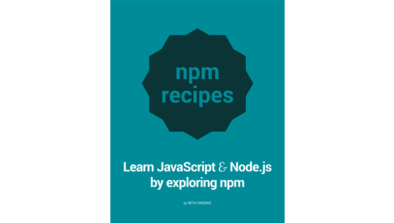 Cover book: npm recipes