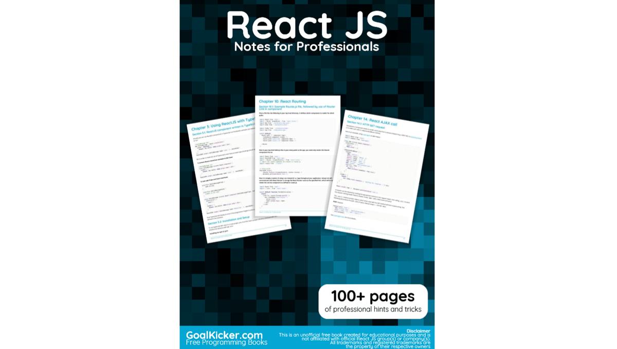 14 Free React JS Books