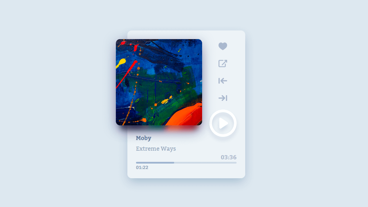 thumb image: Vue Music Players
